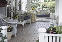 Front Porches / Porches hold a magic all their own.