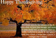 The Season To Give Thanks / It is always the right season to give thanks to God.