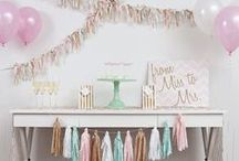 Bridal Shower Ideas / Inspiration for bridal showers.