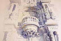 The best Watercolor / Akwarela - najlepsze prace
