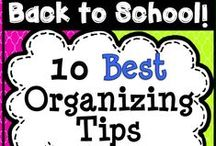 Classroom Organization / Classroom organization tips, teacher hacks, and more awesome ideas for the elementary classroom.