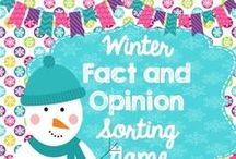 Winter Resources (Elementary Classroom) / A variety of fun winter resources and activities for the upper elementary classroom.
