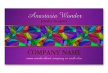 ESZAdesign Patterned Business Cards