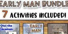 Early Man-Ancient Civilizations / Where did we come from?  This board focuses on Early Man and traces the existence of humans and the development of agriculture.