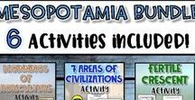 Mesopotamia-Ancient Civilizations / Learn about the first civilization on Earth...Mesopotamia.  All resources here focus on the important developments that came from Mesopotamia and how it impacted future civilizations.