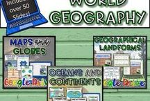 Explore the WORLD!-Geography Activities / Are you looking for resources that take your students out of the walls of their classroom?  Check out this board for some FANTASTIC activities that enforce geography skills as well as helping students identify where they are in the world!