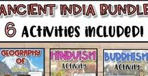 Ancient India-Ancient Civilizations / This board focuses on the early civilization of Ancient India.