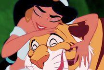 Princess Jasmine / A whole new world.