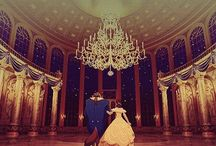 Beauty and the Beast / Who can ever love a beast. ( I think we all can, because of this movie)