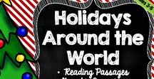 Holidays Lessons and Ideas / Fun holiday activities and lessons for the upper elementary classroom.