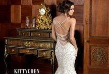 Kitty Chen / modern and elegant wedding gowns
