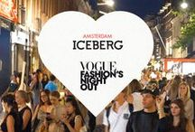 Vogue Fashion's Night Out - Amsterdam 2013 / Iceberg celebrates Amsterdam 2013 Vogue Fashion Night Out / by Iceberg