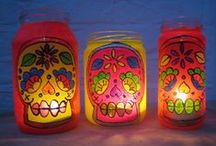 Day of the Dead/Sugar Skull / by Stefany McClain