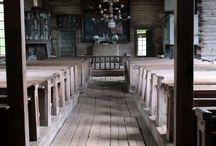 Visiteeratut kirkot / Kirkkoja on tullut joskus bongattua...