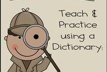 {Language Arts} / Writing, reading, literature, Grammar...everything language arts!