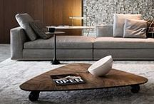 Interiors | Minotti / Great Italian style furniture. Great color schemes, great interior photography, great graphic style.