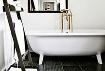 Interiors | Bathrooms / Simple style bathrooms. Tile in style.