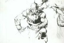 Arte-John Buscema / El rey
