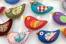 Scrap Fabric / All those wonderful inventive projects to use up your scraps!