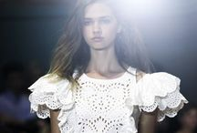 summer chic  / beautiful inspiration from the luxury labels.