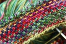 ściegi na drutach