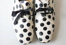Heels, wedges, sandals, boots, etc;