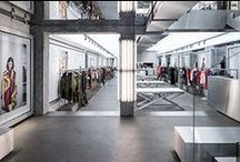 Iceberg Flagship Store in Milan / Designed by architect Hannes Peer, the Iceberg flagship store in Milan is a 250+ square meter boutique on two floors that combines a classy pop style with the strikingly modern feel of the furnishings and materials defining the interiors. Stop by and discover the collections, via Verri on the corner with via Bigli, Milan. / by Iceberg