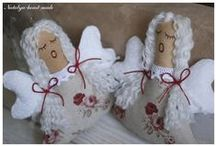 Ангелы / текстильные игрушки