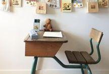 Children work spaces