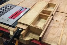 "Woodwork Workstations / 4'x4'x 36"" (Table saw, Insert Router, Jigsaw) 2'x 8' x 36"" (Drill Press, Miter Saw, Worktable) 2' x 6' x 36"" (Planer, Sander)"