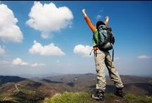 / MOCHILEROS - BACKPACKERS / Gente viajera, mochileros en la ruta, gente con mochila en el camino. Wanderlust, inspiracion de viajes / by Mochileros .Org