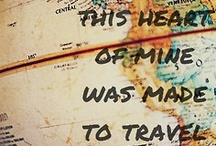 Travel<3:) / All the places I will visit / by Brea Baker