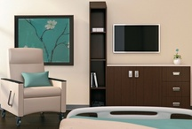 Healthcare Solutions / We meet the needs of busy healthcare providers by offering quality, highly technical products and practical space solutions. Invest comfortably with HST Interior Elements.