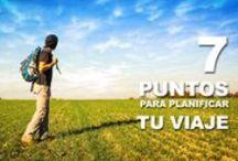 / MOCHILEROS TIPS / Consejos de viaje para mochileros y viajeros independientes. / by Mochileros .Org