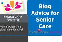 Senior Care Content / Why content matters and other fun content stuff.