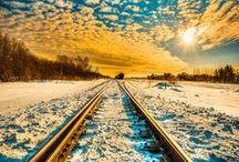 / LUGARES PARA FOTOGRAFOS DE VIAJES / Lugares paradisiacos, destinos maravillosos. Regla de tercios, hora dorada, phi, balance. Crepusculos, sunset.  // Places for travel photographers / by Mochileros .Org