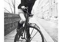 Ride your bike, is chic! / Chic people//Chic bike