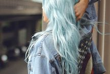 Color hair color / Color