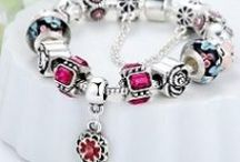 #1 The Rose Bracelet - £13.50 / Beautiful European Charm Bracelets. These new bracelets are available to buy from AMAZON - Now LESS 62% - ONLY £13.50 each >>> http://amzn.to/1YhFppr