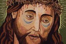 LIDIA SABIUTA sewing art / bizantine icons, catholic icons, sewing art