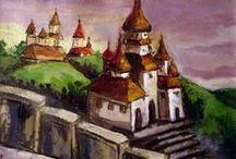 LIDIA SABIUTA painting / oil painting, landscapes, flowers, still life