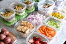 prepare food for the week