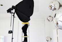 Kupu product photoshoot behind the scenes / Behind the scenes photos of Kupu -smoke detector product photoshoot in Inkoo, Finland with photographer Chikako Harada.