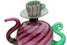 Tipsy Tea Pots / by ༺♥༻ Susie R