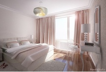 What I do / Powder pink bedroom