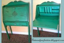 Reclaimed Furniture  / Making old furniture new again.  Pieces refinished by Reclaim-ologists and Other Crafty Chicks.  Find us on facebook at https://www.facebook.com/ReclaimOlogistsAndOtherCraftyChicks #furniture #upcycled #reclaimed #painted #milkpaint #chalkpaint #utah #boutique #reclaimologists