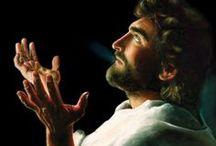 Alpha Omega / Artwork of Jesus Christ / by Heather Aronson
