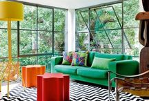 Lakberendezés - otthon - home decoration / These are decoration, inspiration and atmosphere picks for an original home. Interior design reflects what people are: endlessly creative.