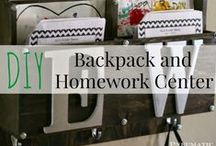 Back-to-School Projects for the Kids / DIY projects that will make going back to school a little less painful.