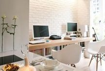 Inspiration | Desk Area + Work Space / Inspiration for the office and desk areas....